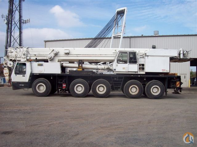 1995 KRUPP KMK 5175 175-TON ALL TERRAIN CRANE Crane for Sale in New York New York on CraneNetwork.com