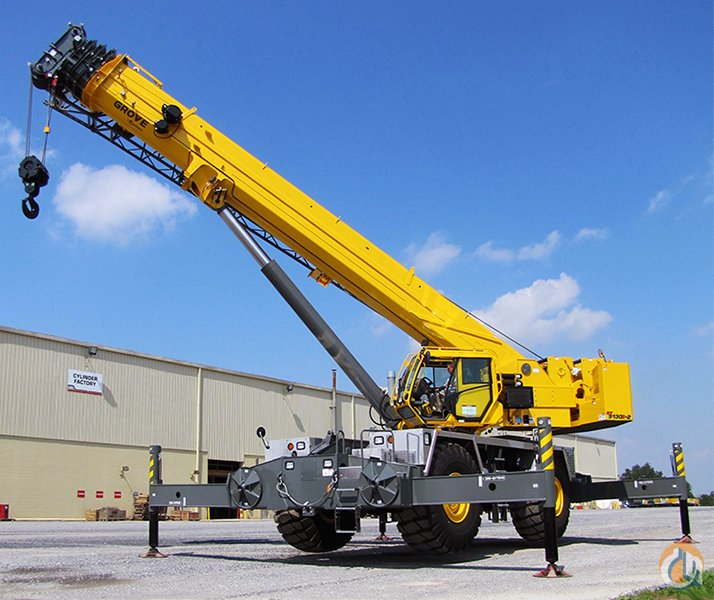 2013 GROVE RT9130E-2 Crane for Sale on CraneNetwork.com