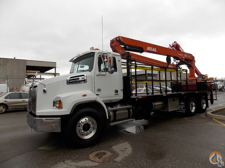 NEW ATLAS 300 FORM CAGE HANDLER on NEW 2016 WESTERN STAR 4700 TA - 470 HP  AUTOMATED 18 SPEED Crane for Sale in Toronto Ontario on CraneNetworkcom