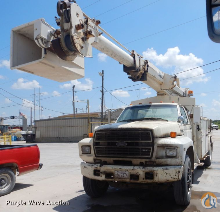 1984 Ford F7000 Crane for Sale in Topeka Kansas on CraneNetwork.com