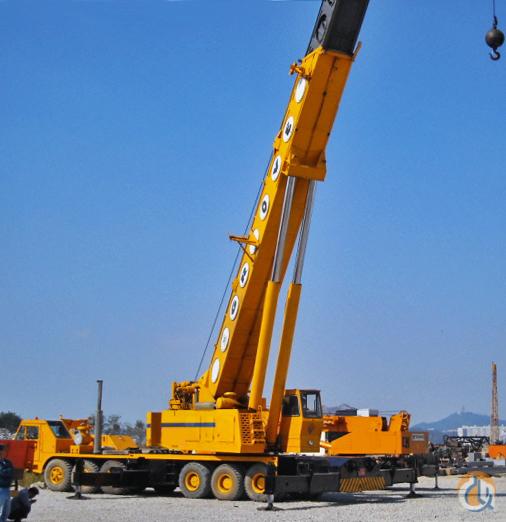 Telescopic Crane 200 Ton : Sold ton grove tm for sale crane on
