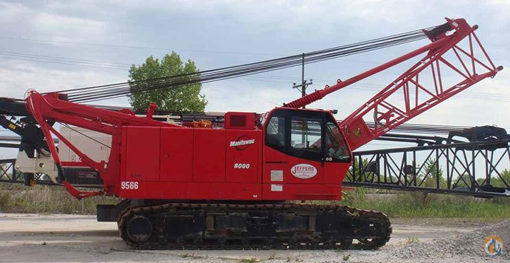 Manitowoc 8000 For Sale Crane for Sale in Mississauga Ontario on CraneNetwork.com