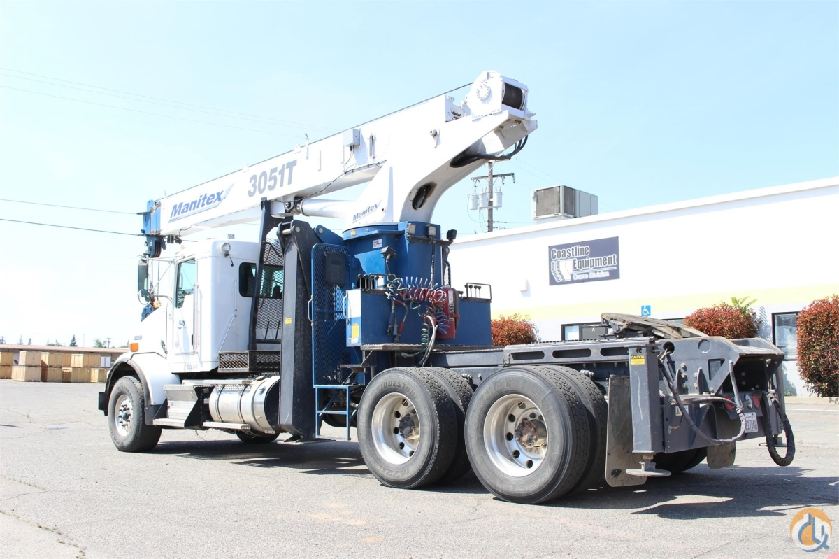 2014 MANITEX 3051T Crane for Sale or Rent in Santa Ana California on CraneNetworkcom