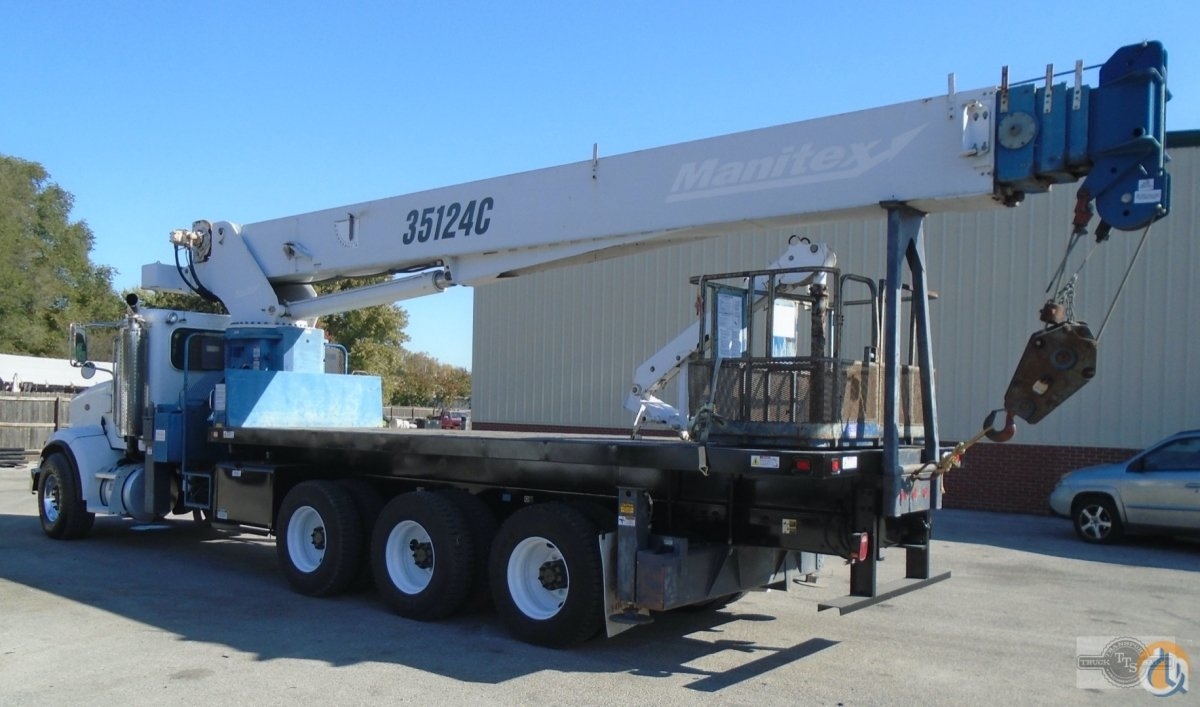 2007 Manitex-Peterbilt 35124C 35 Ton Boom Truck Crane CranesList ID 372 Crane for Sale on CraneNetwork.com