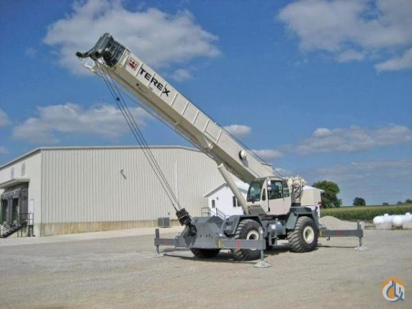 Terex RT555-1 Crane for Sale in Leduc Alberta on CraneNetworkcom