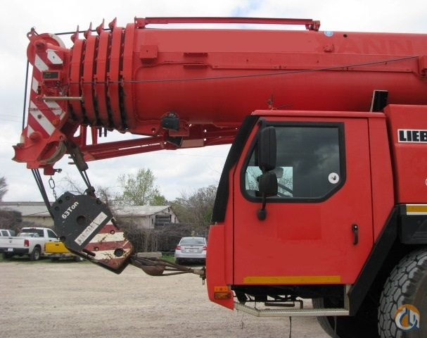 2008 Liebherr LTM1130-5.1 160 Ton Price Crane for Sale in Lewisville Texas on CraneNetwork.com