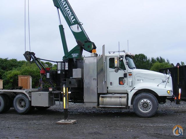 NATIONAL 857C 19 TON BOOM TRUCK Crane for Sale in Stamford Connecticut on CraneNetworkcom