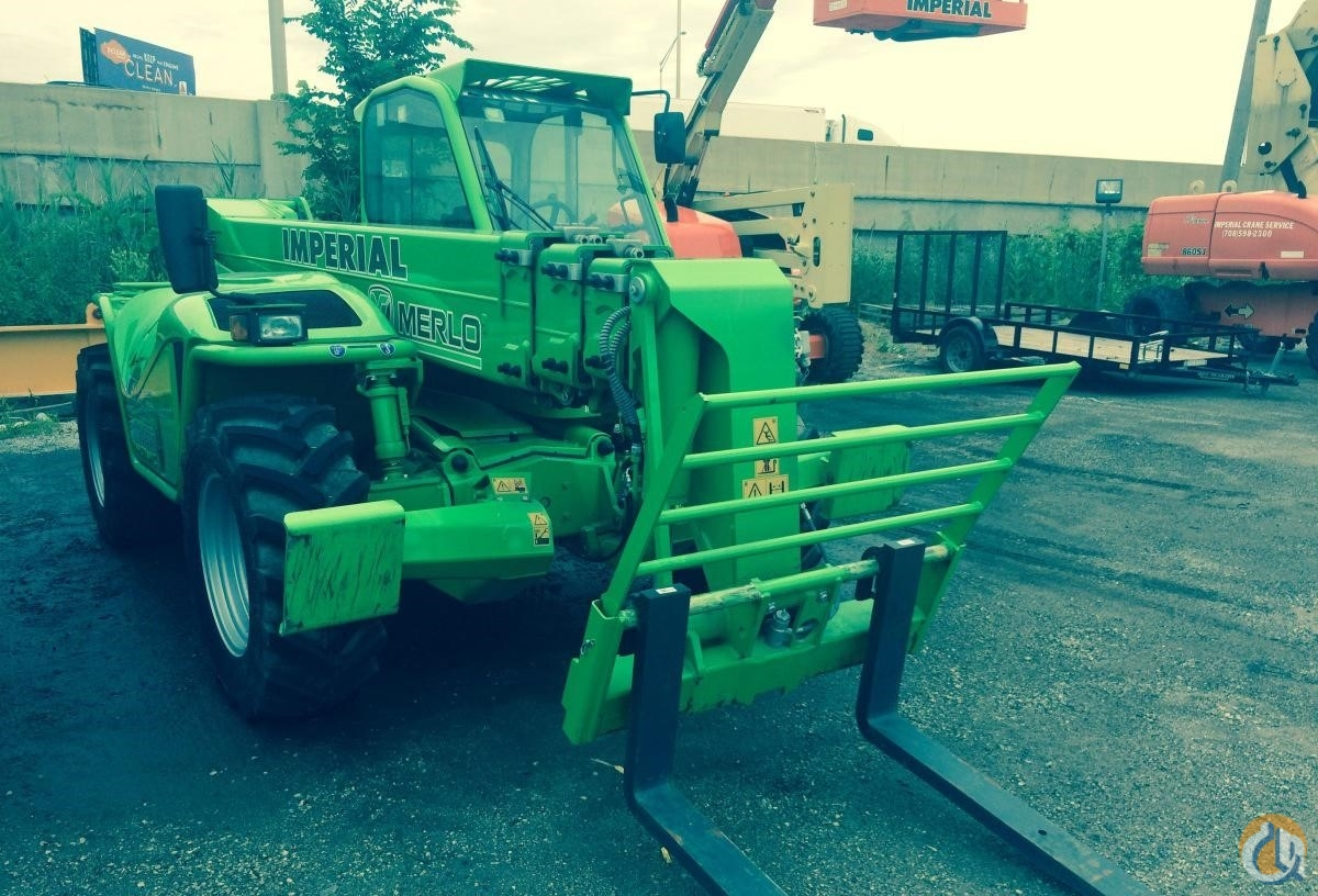 2015 MERLO P40.17 Crane for Sale in Bridgeview Illinois on CraneNetwork.com