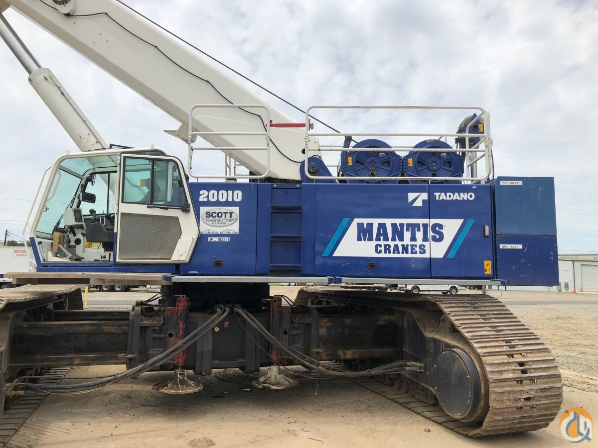 Sold 2012 TADANO MANTIS 20010 Crane for  on CraneNetwork.com