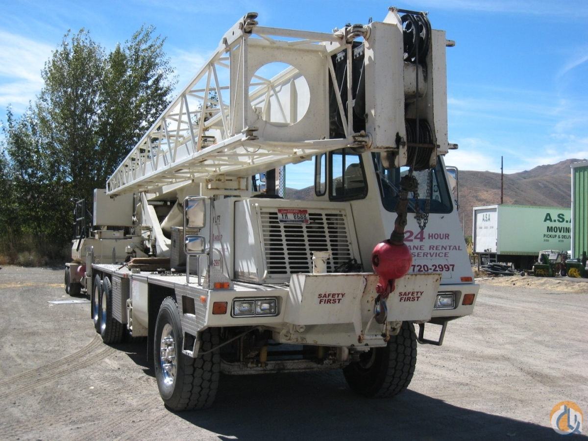 1998 Terex T335 Crane for Sale in Hailey Idaho on CraneNetwork.com