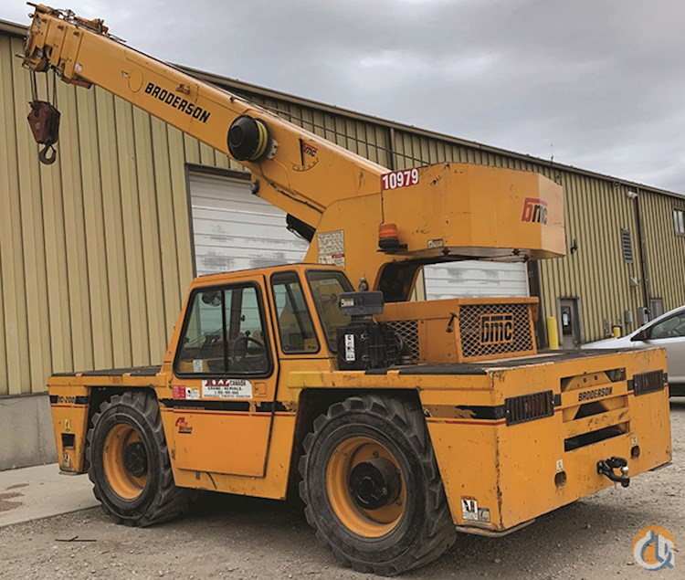 Broderson IC-200-3H Crane for Sale or Rent in Cleveland Ohio on CraneNetwork.com