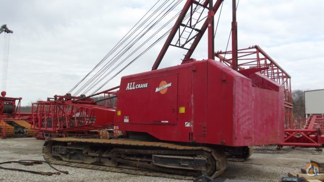 Manitowoc 4100S-2 For Sale Crane for Sale in Knoxville Tennessee on CraneNetworkcom
