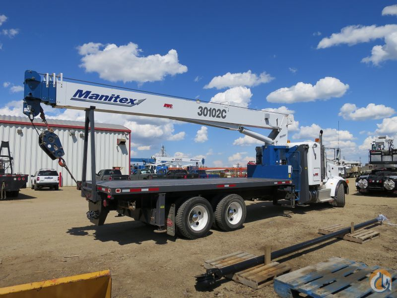 MANITEX 30102C MOUNTED ON A 2013 PETERBILT 365 Crane for Sale on CraneNetwork.com