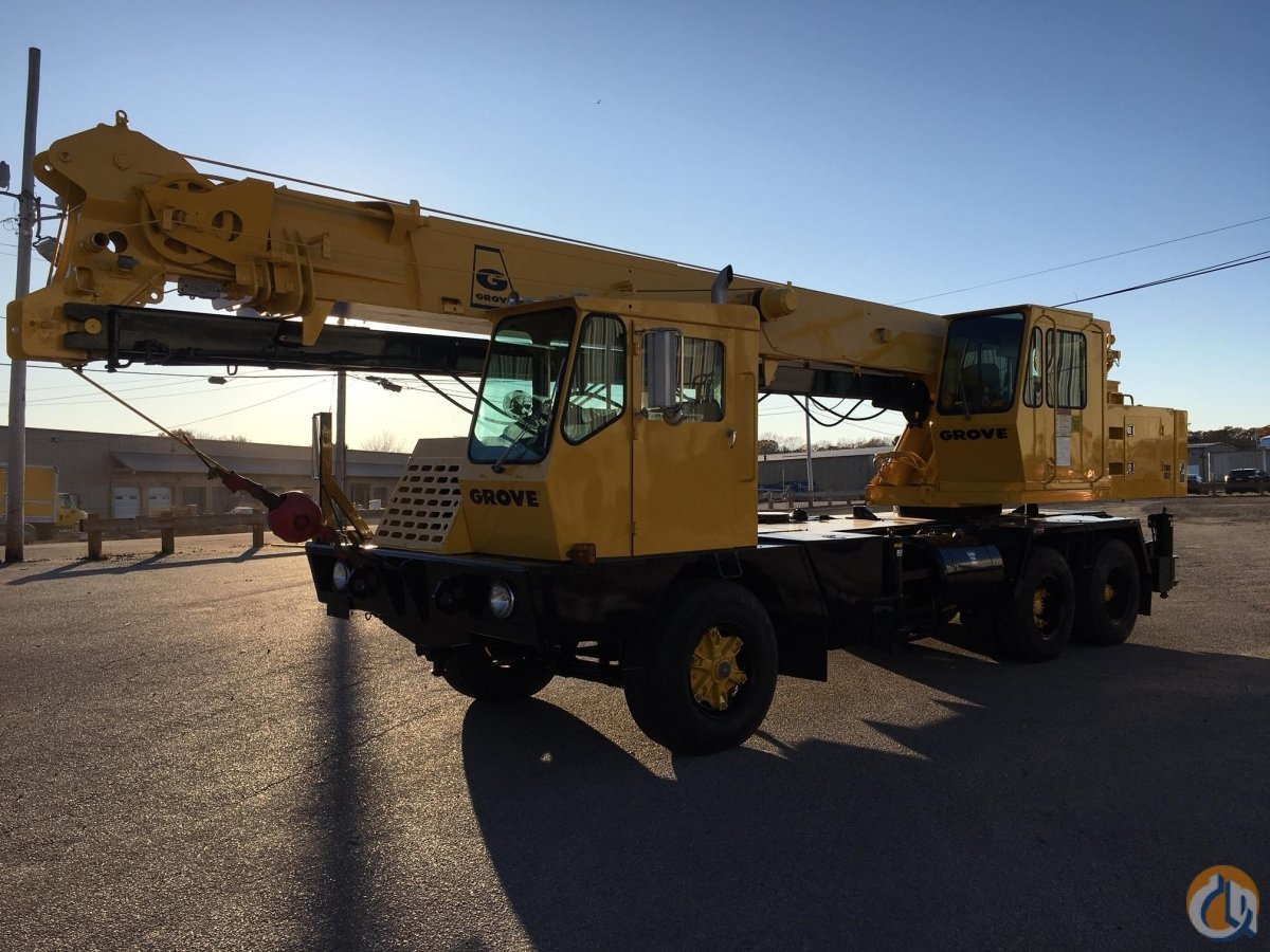 1986 GROVE TMS522 Crane for Sale in North Syracuse New York on CraneNetwork.com