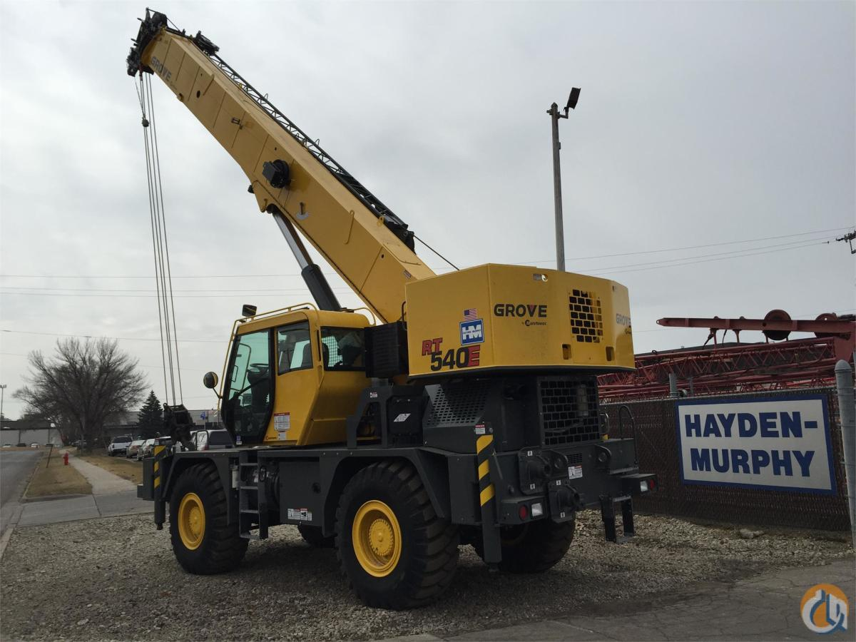 2013 GROVE RT540E Crane for Sale in Bloomington Minnesota on CraneNetwork.com