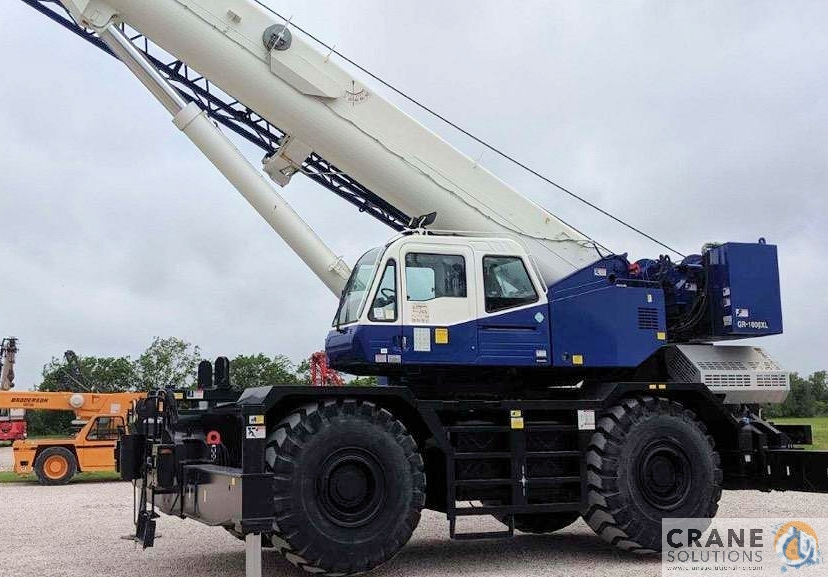 2015 Tadano GR1000X Crane for Sale in Savannah Georgia on CraneNetwork.com