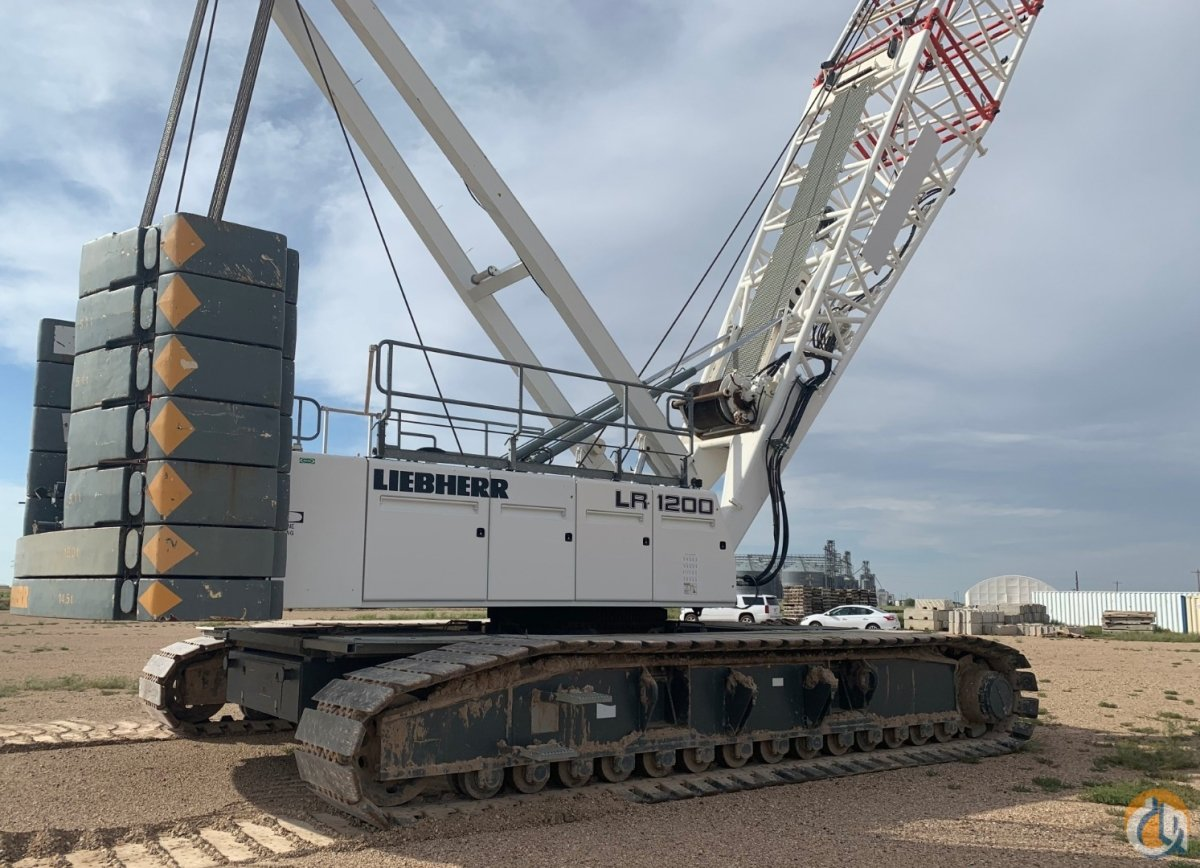 2008 LIEBHERR LR-1200 250 US TON CLASS CRAWLER CRANE Crane for Sale on CraneNetwork.com