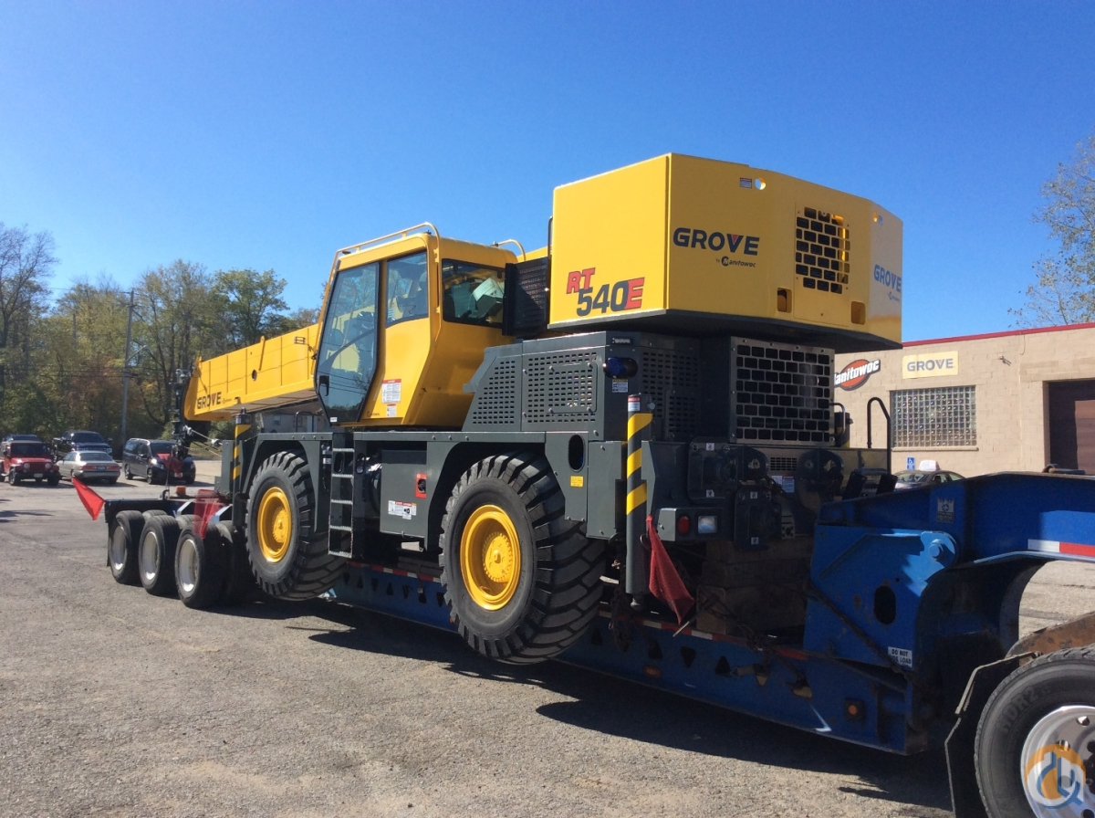 New 2014 Grove RT 540E Crane for Sale in Cleveland Ohio on CraneNetwork.com