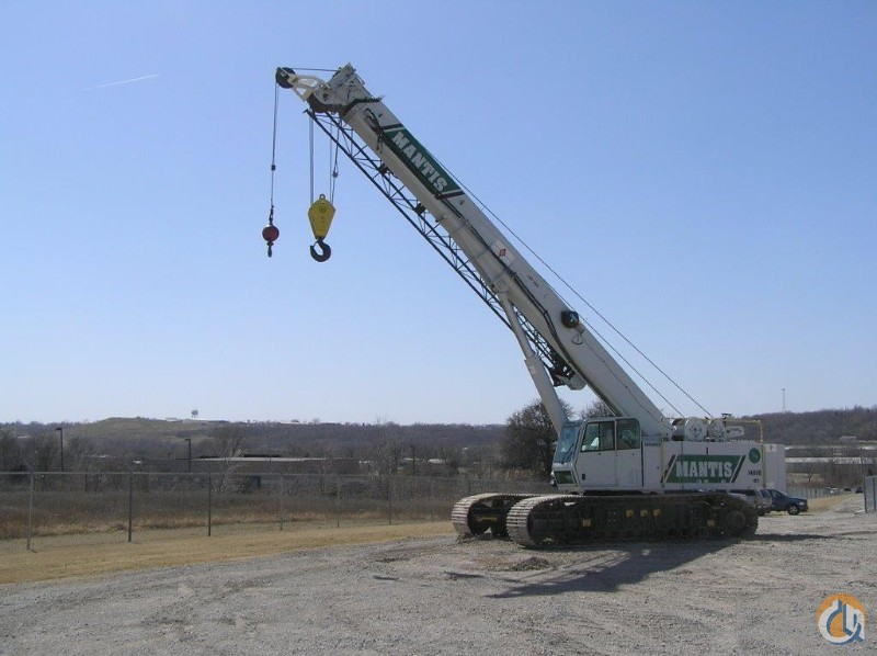 2005 MANTIS 6010 30 TON HYD CRAWLER Crane for Sale in Revelstoke British Columbia on CraneNetworkcom