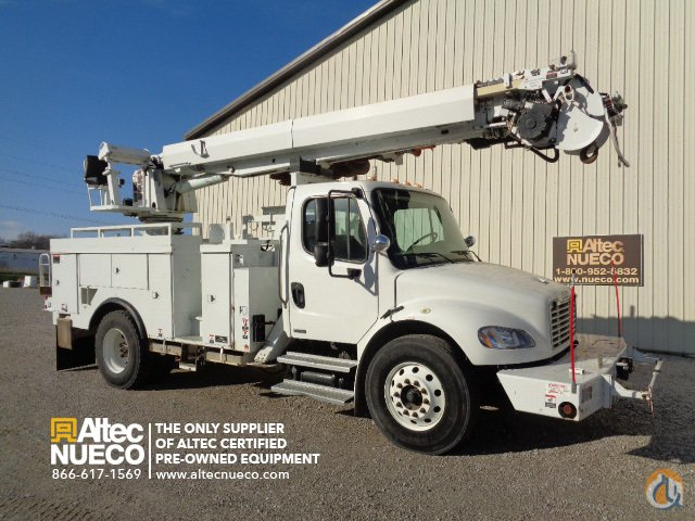 2009 Altec DC47-BR Crane for Sale in Birmingham Alabama on CraneNetworkcom