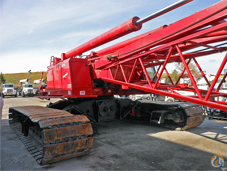 Sold 2001 200-Ton Manitowoc 777 Series 2 Crawler Crane for  in Cleveland Ohio on CraneNetwork.com