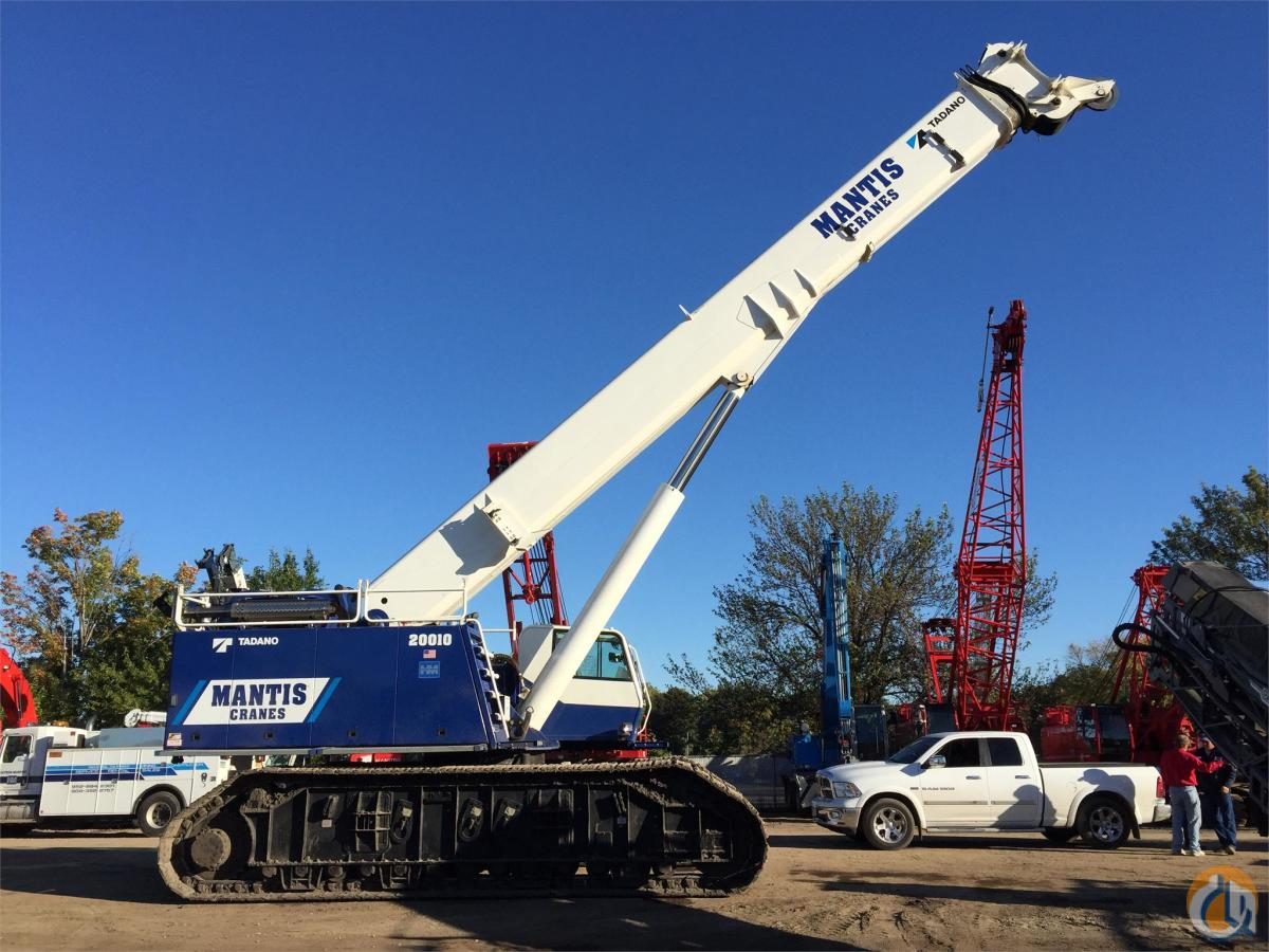 2013 MANTIS 20010 Crane for Sale in Bloomington Minnesota on CraneNetworkcom