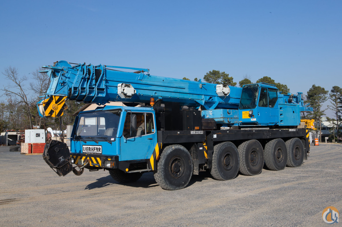LIEBHERR LTM 1120 ALL TERRAIN CRANE Crane for Sale in New York New York on CraneNetwork.com