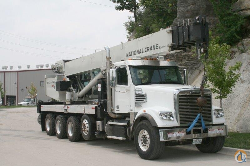 2011 NATIONAL NBT45 MOUNTED ON A 2012 FREIGHTLINER Crane for Sale in Kansas City Missouri on CraneNetwork.com