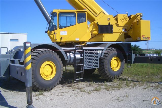 Grove RT890E Rough Terrain Crane For Sale Crane for Sale in Grimes Iowa on CraneNetwork.com