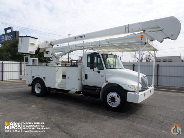 2007 Terex Hi-Ranger 5TC-55 Crane for Sale in Calera Alabama on CraneNetwork.com