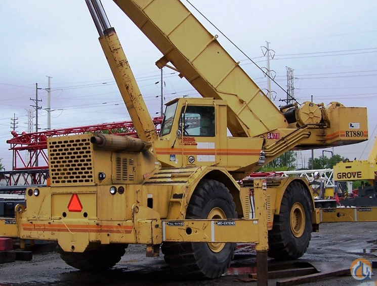 Grove RT880 For Sale Crane for Sale in Hammond Indiana on CraneNetworkcom