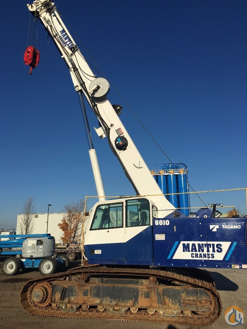 2011 Mantis 6010 Crane for Sale in Ayr Ontario on CraneNetwork.com