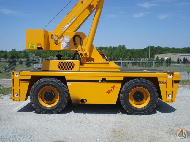 2012 Broderson IC250-3C Carry Deck Crane For Sale Crane for Sale in Hazel Crest Illinois on CraneNetwork.com