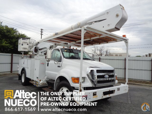 2008 ALTEC AA55-MH Crane for Sale in Birmingham Alabama on CraneNetworkcom