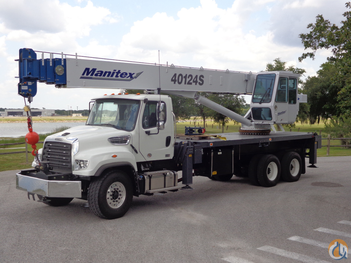 Sold New Manitex 40124S Crane for in Tampa Florida on ...