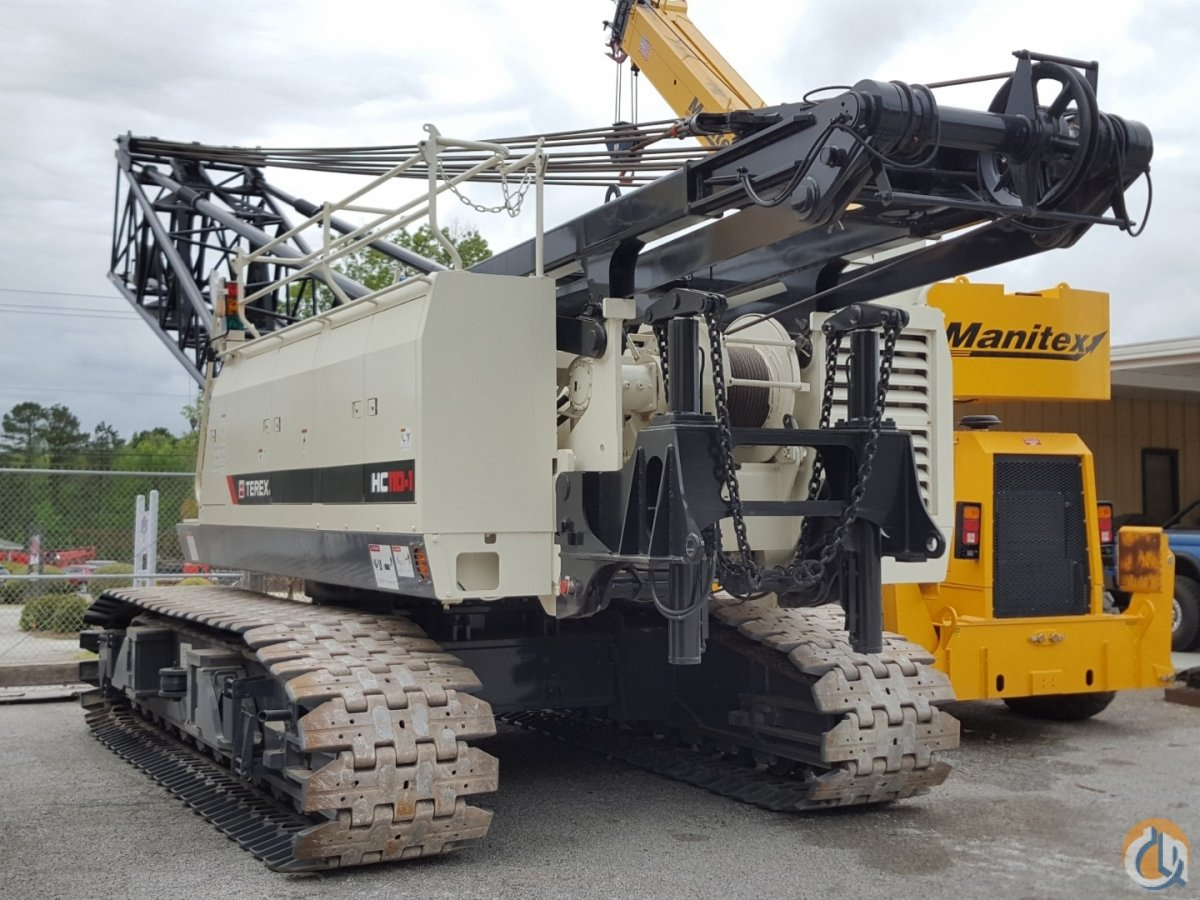 2017 TEREX HC-110-1 Crane for Sale or Rent in Savannah Georgia on CraneNetwork.com