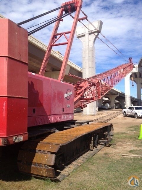 Sold 2002 Manitowoc 555 Series II Crane for  on CraneNetwork.com