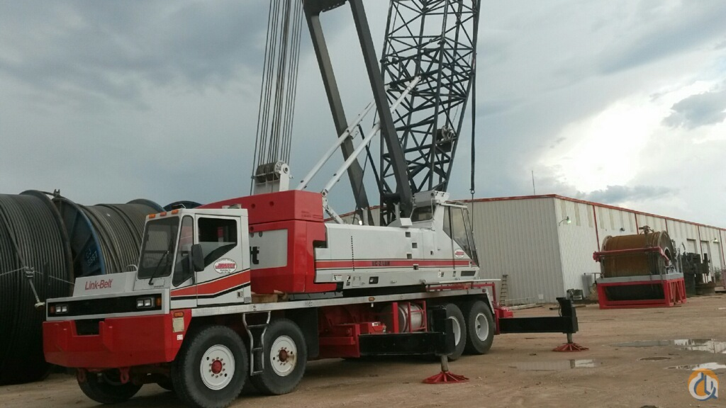 Link-Belt HC-248H Truck Mounted Lattice Boom Cranes Crane for Sale 1999 HC-248H Lattice Boom Truck crane in Plainview  Texas  United States 217852 CraneNetwork
