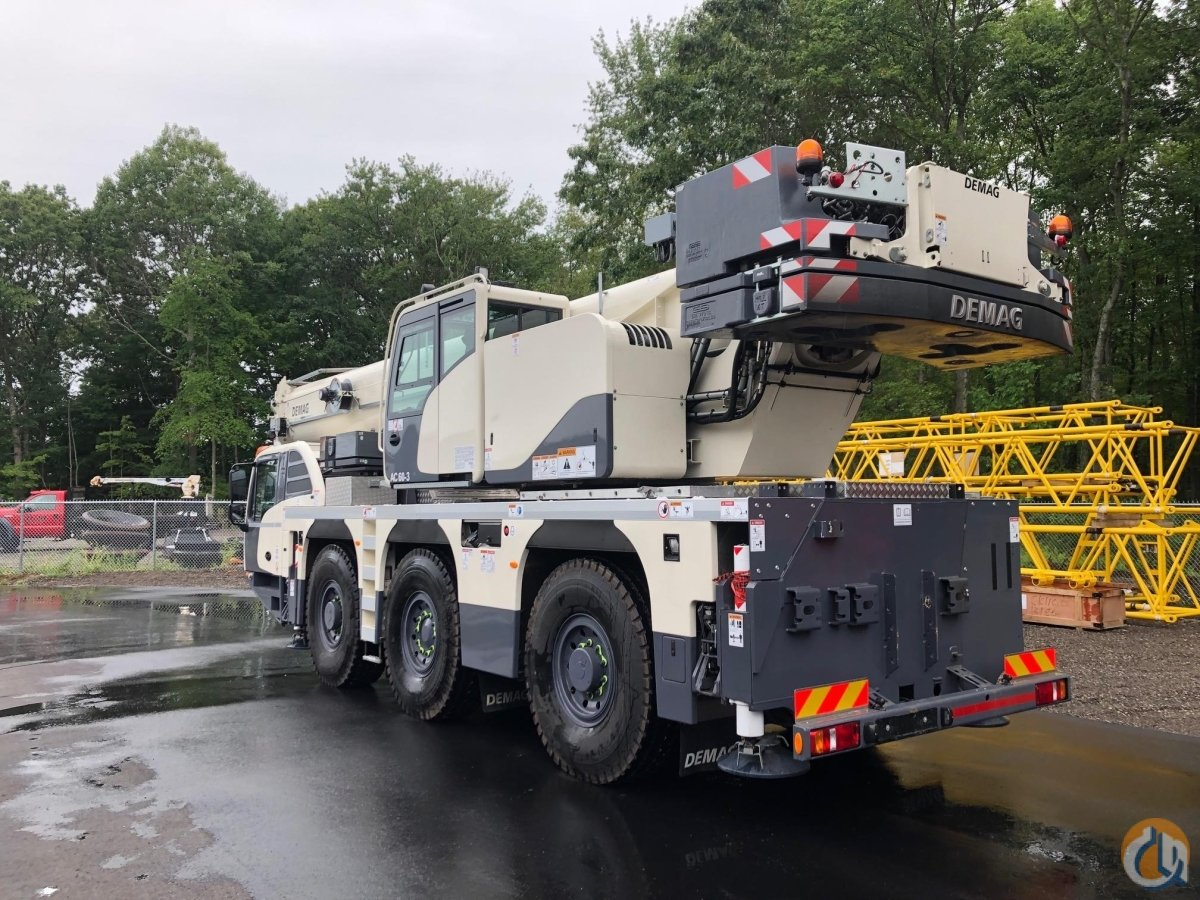 2019 DEMAG AC60-3 Crane for Sale in Holbrook Massachusetts on CraneNetwork.com