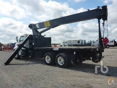Sold 2002 STERLING LT8500 TA wNational 800C 42000 Lb Boom Truck Crane for  in Orlando Florida on CraneNetworkcom