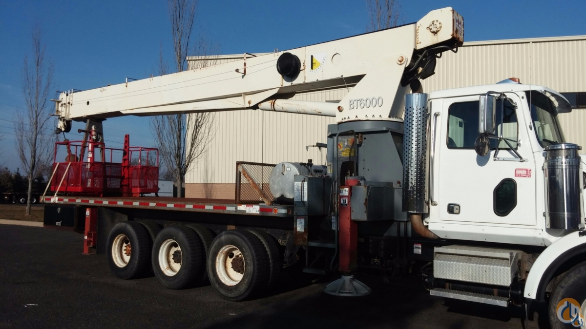 Sold USED TEREX BT60100 BOOM TRUCK Crane for  in Branchburg New Jersey on CraneNetwork.com