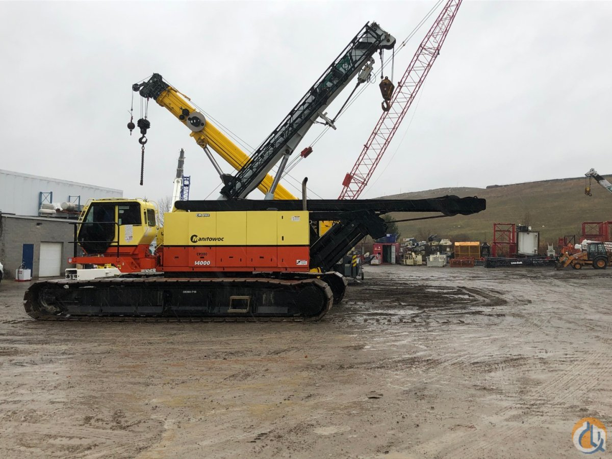 2008 MANITOWOC 14000 S2 Crane for Sale or Rent in Cleveland Ohio on CraneNetwork.com