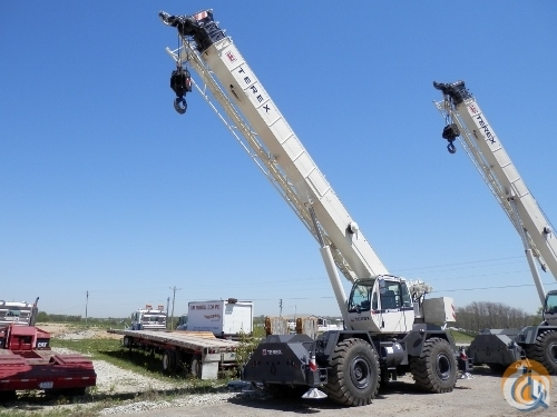 2015 TEREX RT-555 Crane for Sale or Rent in Westlake Louisiana on CraneNetworkcom