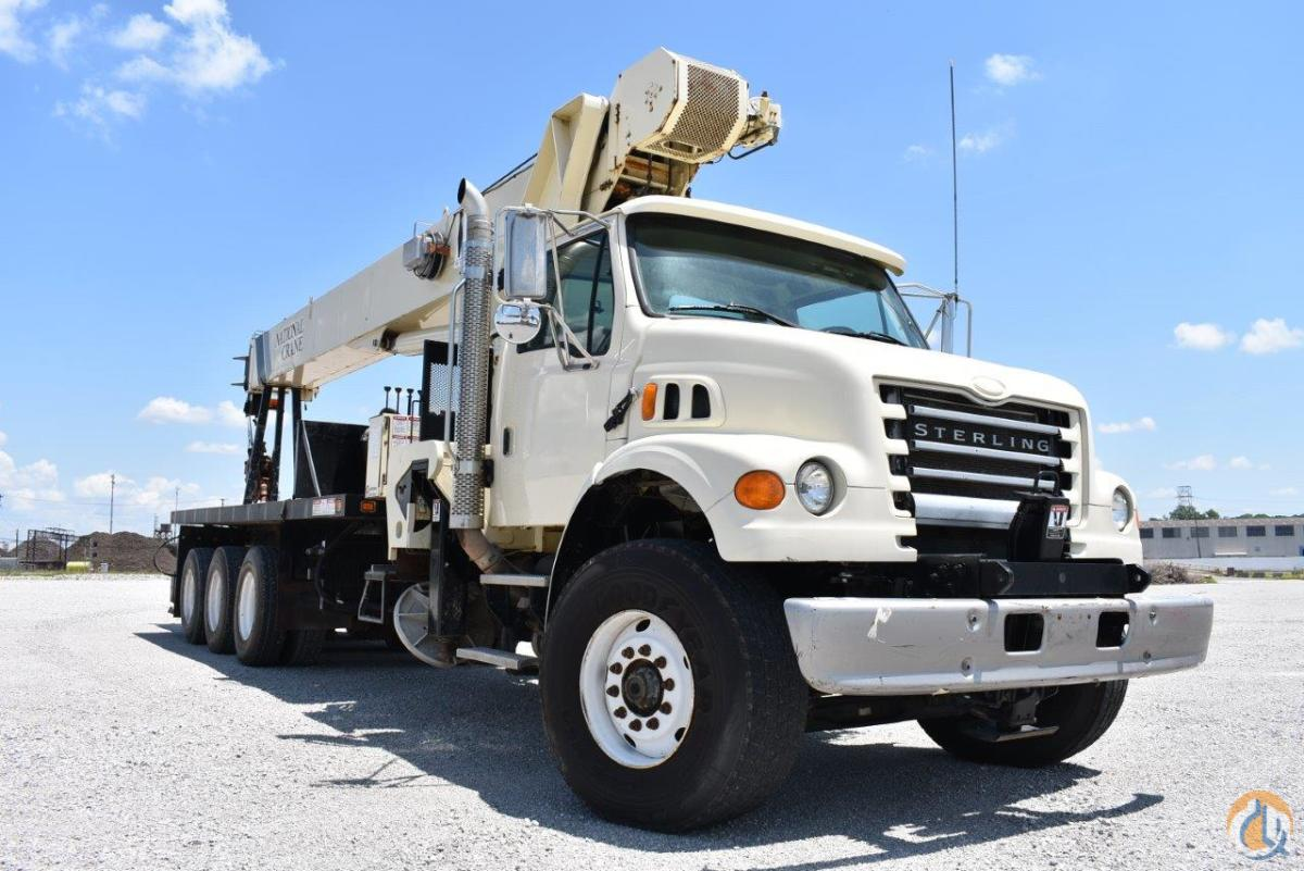 2006 National 14127H Mounted on a Sterling LT7500 Crane for Sale in Kansas City Missouri on CraneNetwork.com