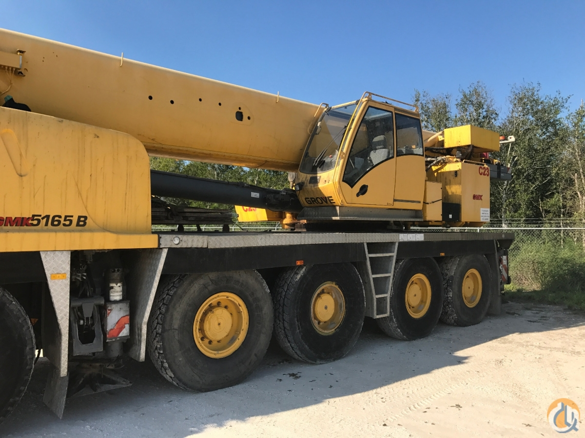 2009 Grove GMK5165 PRICE REDUCED Crane for Sale in Longview Texas on CraneNetwork.com