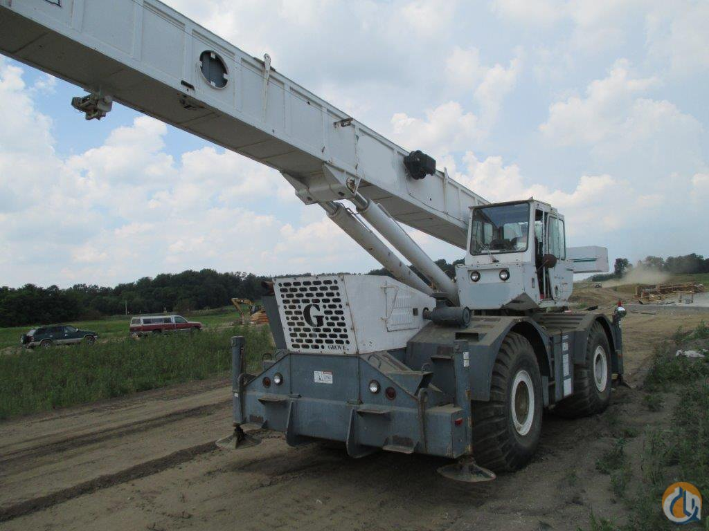 2000 Grove RT750 Crane for Sale in Riverdale Illinois on CraneNetwork.com