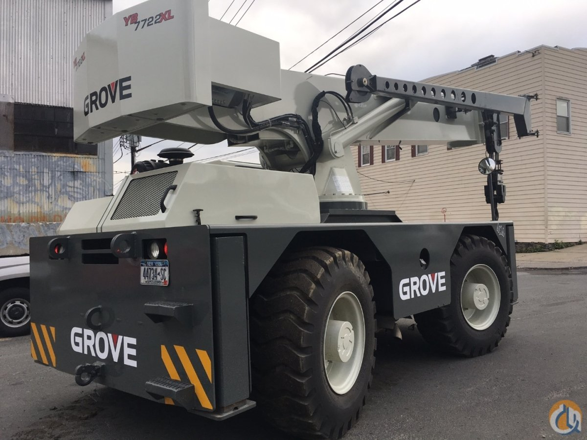 Grove YB7722XL Carry Deck Industrial Cranes Crane for Sale 2008 Grove YB7722XL in New York  New York  United States 217767 CraneNetwork