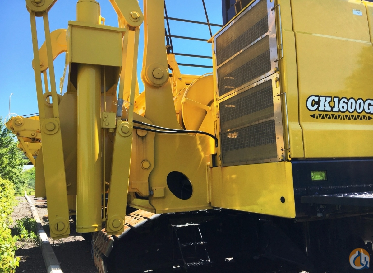 New 2016 Kobelco CK1600G Crane for Sale or Rent in Oakville Ontario on CraneNetwork.com