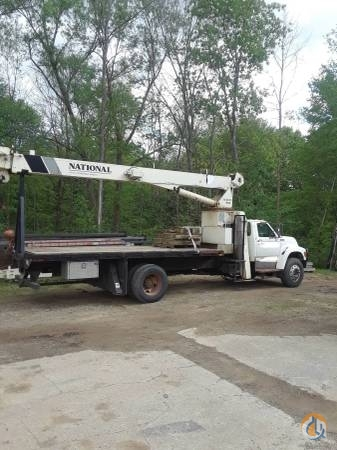 Sold 1995 F800 with 500C National Crane Crane for  in Linesville Pennsylvania on CraneNetwork.com