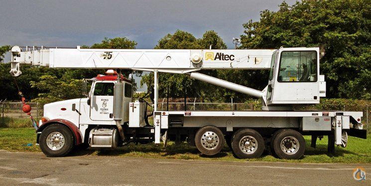 Sold 38-TON ALTEC BOOM TRUCK FOR SALE! Crane for in Miami